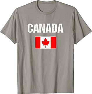 Canada T-shirt Canadian Flag - For Men/Women/Youth/Kids