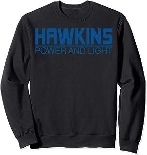 Netflix Stranger Things Hawkins Power And Light Logo Sweatshirt