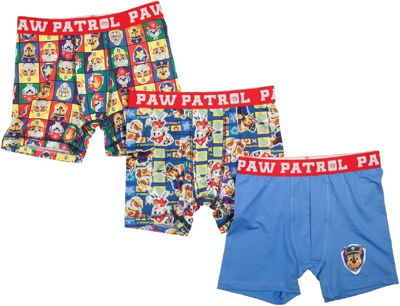 Paw Patrol Action Underwear 3 Pack Boxer Briefs