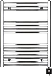 Baño Radiador, eléctrica (eléctrico, 77,5x 750B cromo/curvada, toallero, de baño Radiador, de gran calidad