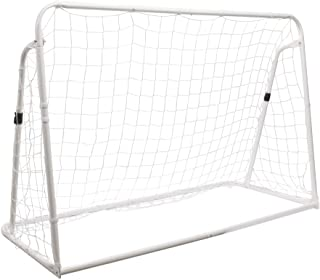 Champion Sports SG3IN1 3-in-1 Trainer Soccer Goal Set, White