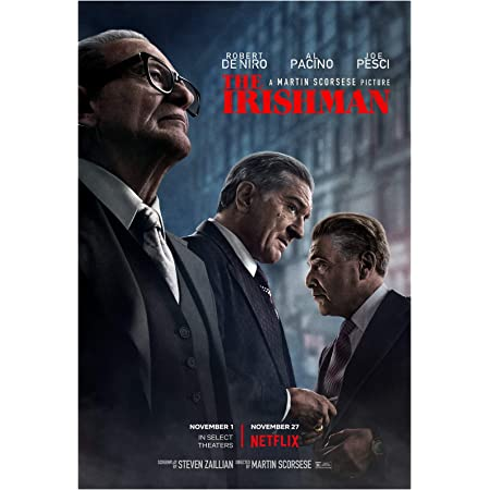 S-548 Hot The Irishman 2019 Movie Poster Wall Art 21x14 36x24