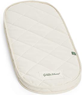The Little Green Sheep Natural Carrycot Mattress (to fit Joolz Geo - 33.5 x 79 cm)