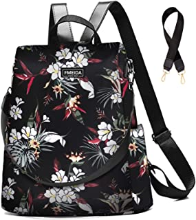 Anti Theft Backpack Purse for Women Waterproof Daypack for Hiking Travel Crossbody Shoulder Bag