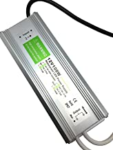 JOYLIT 100W Transformador de Voltage Alimentaci/ón de Interruptor AC 220V a 12V DC 8.3A Fuente de Alimentaci/ón para IP67 Impermeable