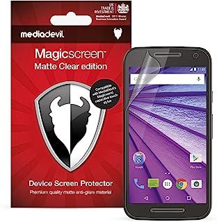 MediaDevil skärmskydd för Motorola Moto G 3:e generationen. (2015, 5 tum skärm) – matt anti-bländning (2-pack)