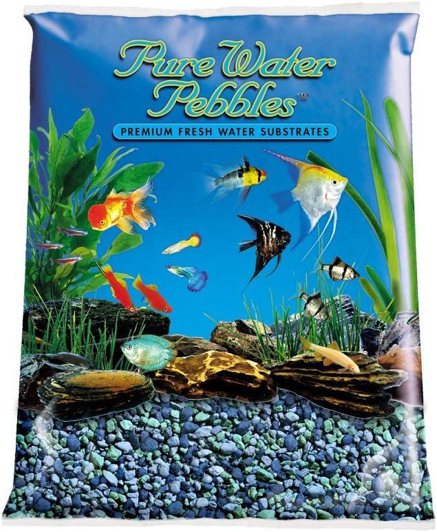 Pure Water Pebbles 70% OFF Outlet Aquarium Lagoon 25-Pound Blue Max 88% OFF Gravel