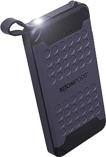 BOOMPODS Powerboom X10 bärbar USB – vattentät snabbladdande powerbank batteriladdare för iPhone, Android Samsung Galaxy & ...