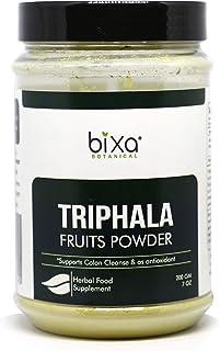 bixa BOTANICAL Triphala Powder(Haritaki, Bibhitaki & Amla) For Healthy Digestion & Absorption, Anti-Oxidant Herbal Supplem...