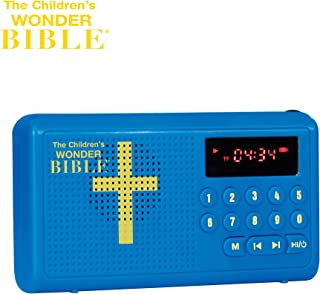 The Children's Wonder Bible Stories & Songs- The Talking Audio Bible Player for Kids, As Seen on TV