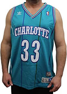 adidas Alonzo Mourning Charlotte Hornets NBA Throwback Zo Swingman Jersey