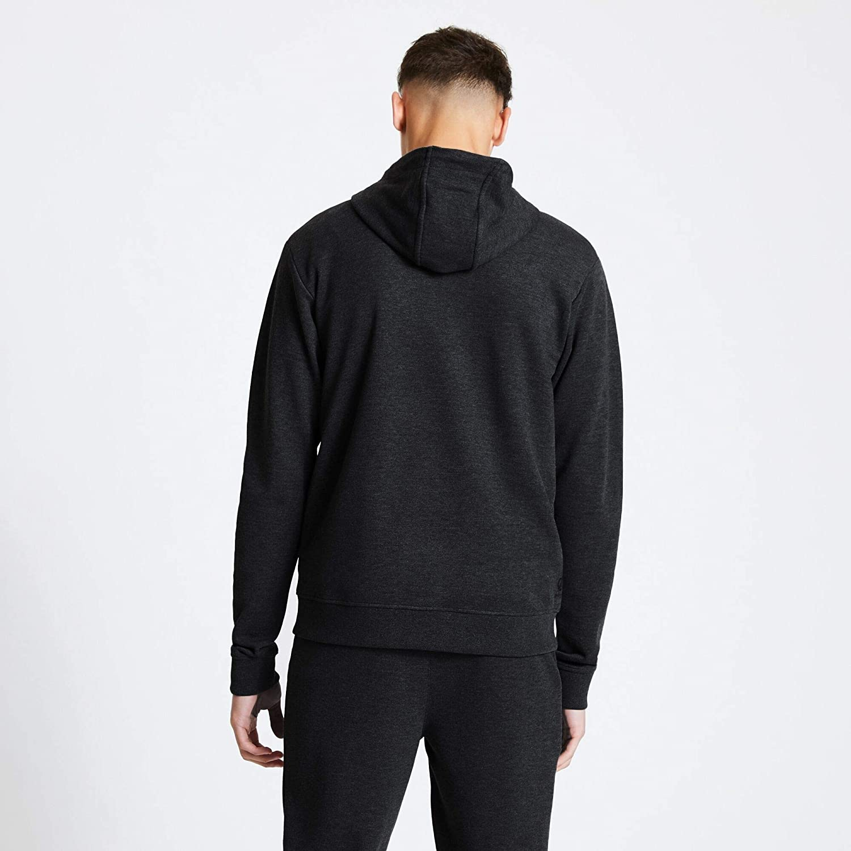 Dare 2b Sweat Polaire Zippé avec Capuche Modulus Knitwear Homme Noir
