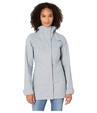 The North Face City Midi Trench (Mid Grey) Women