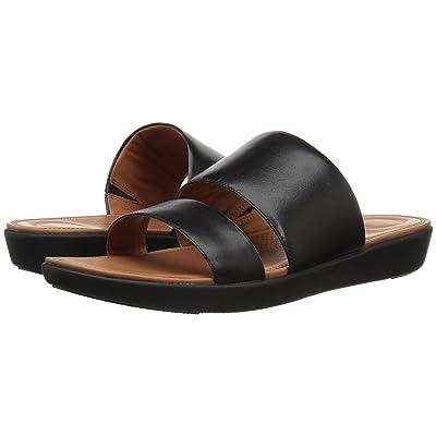 FitFlop Delta Slide Sandals (Black) Women