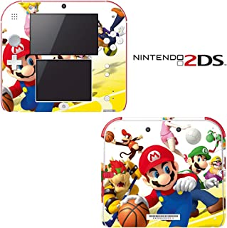 Super Mario Basketball Decorative Video Game Decal Cover Skin Protector for Nintendo 2Ds