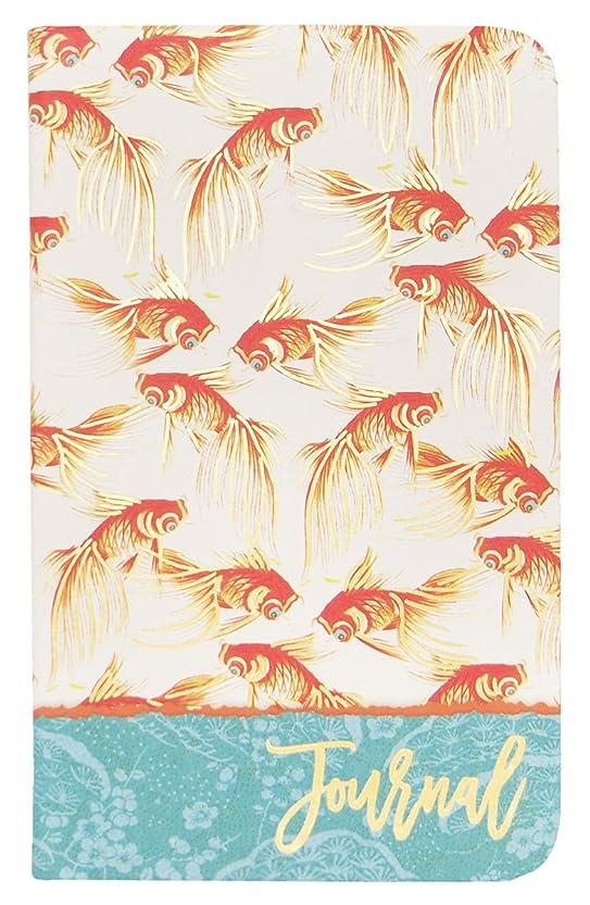 パンチスタジオ ジャーナルノート ソフトカバー (金魚) シノワズリ ガーデン 45994
