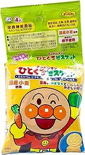 Fujiya Anpanman Baby Biscuit, 80 g, (packs of 4)