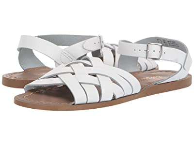 Salt Water Sandal by Hoy Shoes Retro (Big Kid/Adult) (White) Girls Shoes