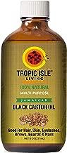 Tropic Isle Living Jamaican Black Castor Oil, Glass Bottle (8 Ounce)