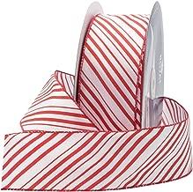white ribbon candy