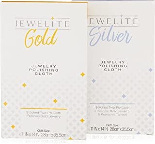 Combo Pack Gold & Silver Polishing Cloth