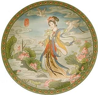 Jingdezhen The Lotus Goddess The Flower Goddesses of China Zhao Hui Min HJ174