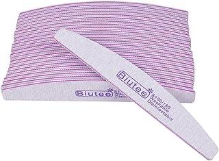 (ビュティー)Biutee グリット爪ヤスリ 爪磨き 爪やすり ネイルファイル ネイルケアセット くし型爪やすり ネイルケア やすり ジェルネイル用ファイル (10本セット)