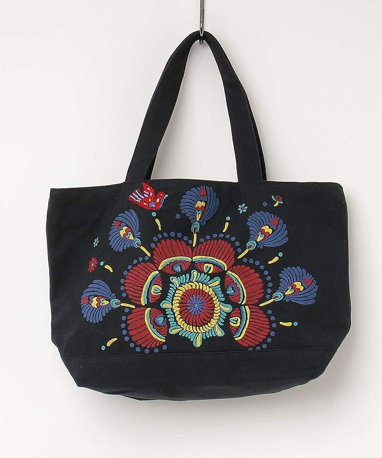 メタン略す郵便屋さん(チチカカ) TITICACA トリハナ刺繍バッグ
