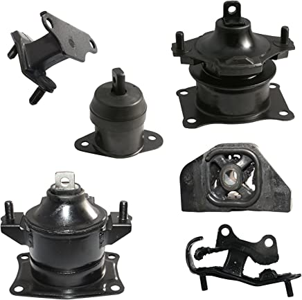 6pc Motor Mounts Set Kit for 03-07 Honda Accord 3.0L V6 Automatic Auto