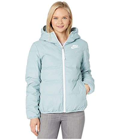 Nike Nike Sportswear Windrunner Down Fill Jacket Reversible (Ocean Cube/Midnight Turquoise/White) Women