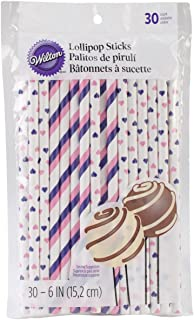 Wilton Colored Lollipop Sticks, Pink/Purple
