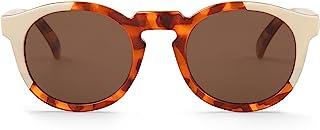 MR.BOHO - Cream/leo tortoise jordaan with classical lenses - Gafas De Sol unisex multicolor (carey/crema), talla única