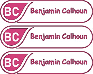 All-purpose, Custom Name Labels, Name And Initials, Multiple Colors And Sizes, Waterproof, Microwave And Dishwasher Safe, Washer And Dryer Safe, Custom Name Label For Camp, Custom Name Labels