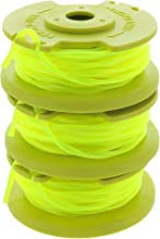 Ryobi One PLUS+ AC80RL3 OEM .080 Inch Twisted Line and Spool Replacement for Ryobi 18v,..