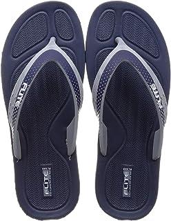 FLITE Women S. Blue Navy Slippers-6