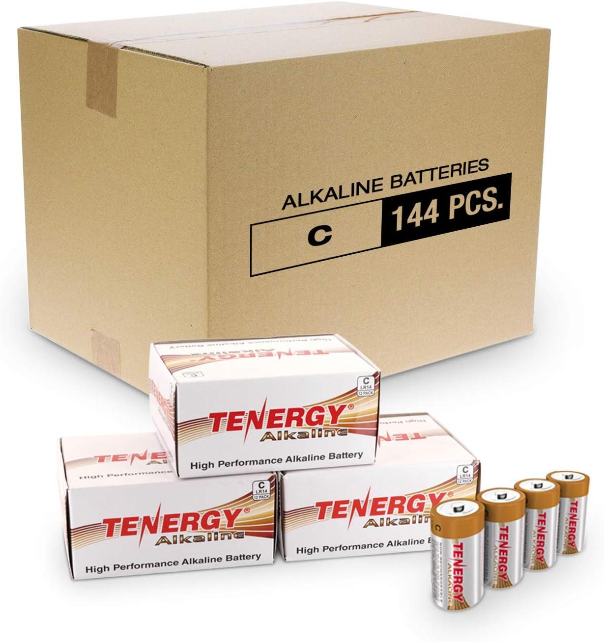 Tenergy 1.5V C Alkaline LR14 High Popular Latest item overseas Performance Battery Non-Rec