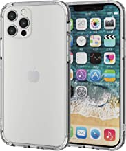 Elecom PM-A20BHVBCR iPhone 12 / 12 Pro Case, Hybrid Bumper Shockproof, Clear