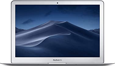 Apple 13 Inch MacBook Air Laptop (1.8GHz Intel Core i5 Dual Core Processor, 8GB RAM, 256GB SSD Storage, MacOS) Silver, MQD42LL/A