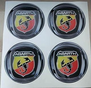 3M tunning color negro ideales para tapacubos efecto 3D 4 Tachuelas Peugeot 50 mm de resina
