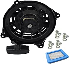 497680 Recoil Starter for Recoil Starter Assembly Briggs and Stratton Starter Parts for Briggs and Stratton Engines Starter for Briggs and Stratton Pull Start Cord Pull Cord Briggs & Stratton 497680,