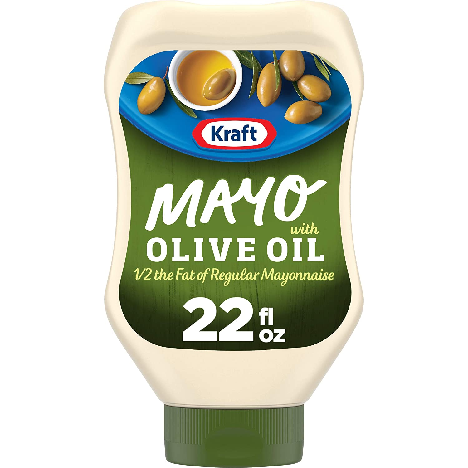 Kraft Mayo Olive Oil Max 59% OFF Reduced Fat Latest item Mayonnaise Pack oz Bottles 22