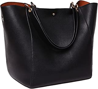 SQLP Fashion Womens Leather Handbags ladies Waterproof Shoulder Bag Tote Bags