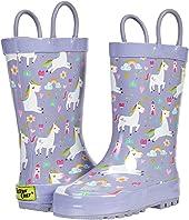 Royal Unicorn Rain Boots (Toddler/Little Kid)