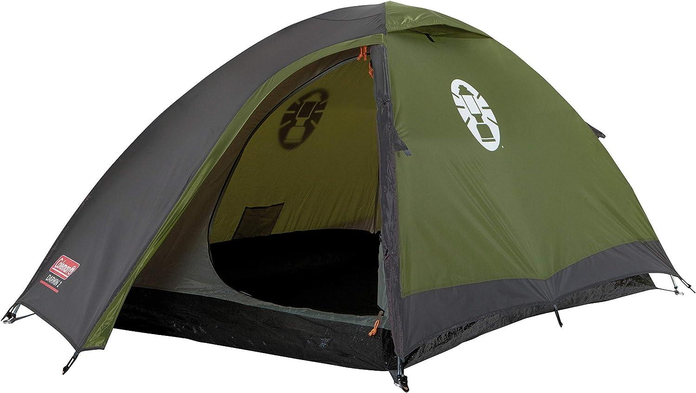 Tienda Coleman Darwin, tienda de campaña compacta, también ideal para acampar en el jardín, tienda de campaña ligera y de senderismo, 100% impermeable ...