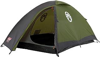 Coleman Darwin 2 tält, 2 mans campingtält, lätt att installera, 2 persontält för spårning och turer, vattentät WS 3 000 mm