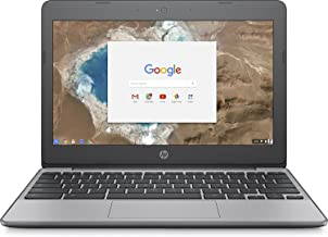 HP 11.6 Inch high performance Chromebook Laptop Computer, Intel Celeron N3060 Up to 2.48GHz, 4GB...