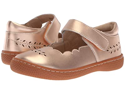 Livie & Luca Juniper (Little Kid) (Rose Gold Metallic) Girl