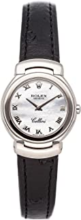 Rolex Cellini Quartz (Battery) Mother-of-Pearl Dial Womens Watch 6621/9 (Certified Pre-Owned)