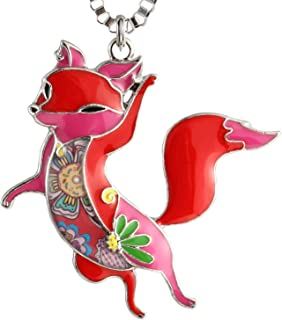 41f2e5511ec57 Amazon.com: Fox - Reds / Necklaces / Jewelry: Clothing, Shoes & Jewelry