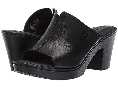 Born Wenaha (Black Full Grain Leather) Women